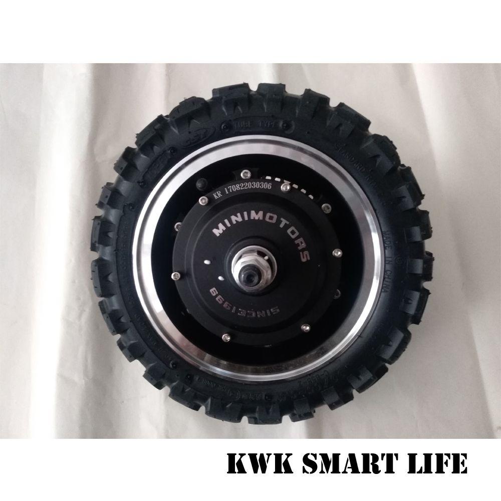 Ultra Motor mit reifen und disc Ultra rad