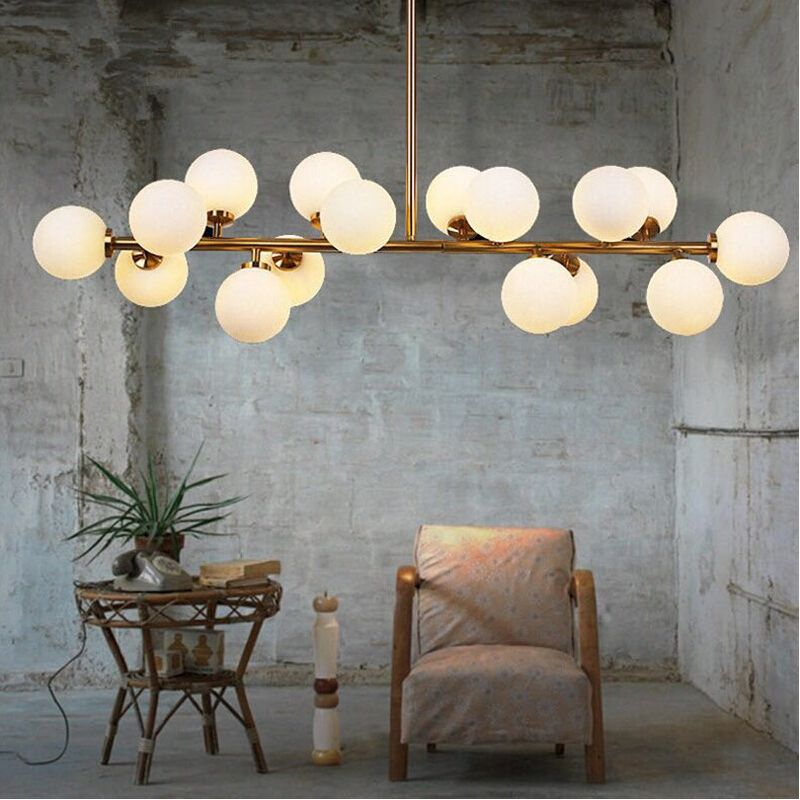 vintage Ceiling Lights g4 light design living bedroom foyer large modern black white shade lamparas de techo retro ceiling lamp