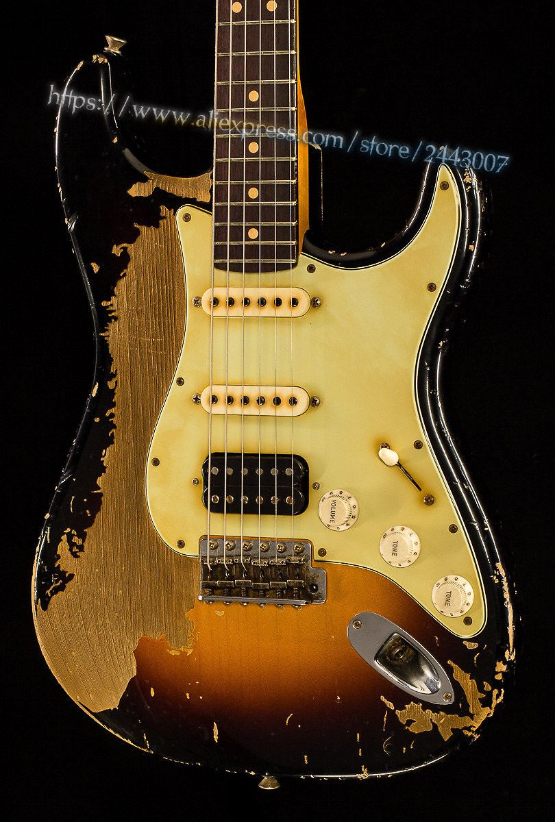 GC Custom Shop Masterbuilt John Cruz '63 Relic Schwere Elektrische Gitarre