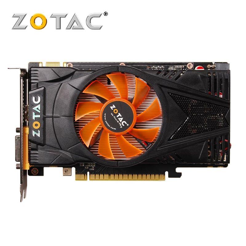 ZOTAC Video Card GeForce GTX 550 Ti 1GB GDDR5 Graphics Cards for nVIDIA Map GTX550Ti Internet Cafes Edition 1GD5 Dvi VGA