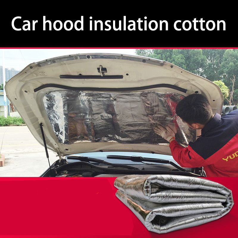 lsrtw2017  free shipping Car hood engine noise insulation cotton heat for jeep cherokee renegade wrangler compass grand cherokee