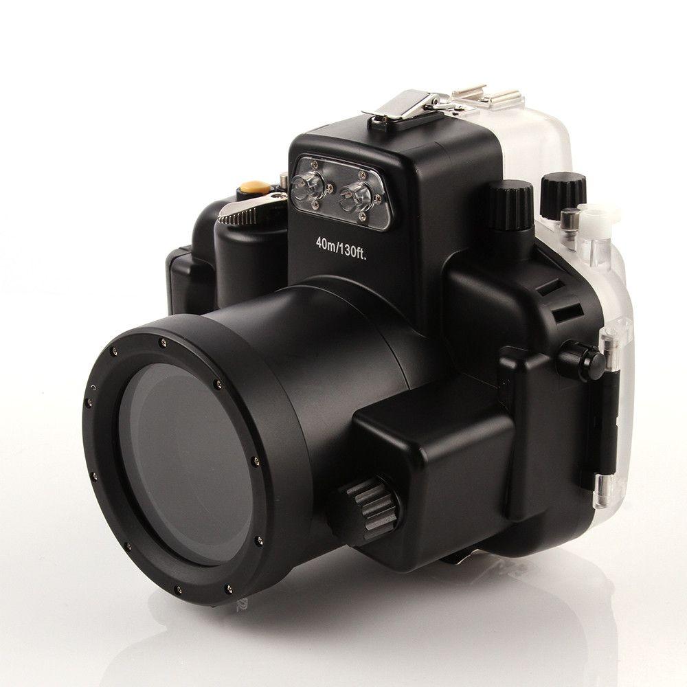 Wasserdicht Tauchen Gehäuse Kamera tasche Fall für nikon d7200 18-55mm objektiv Meikon
