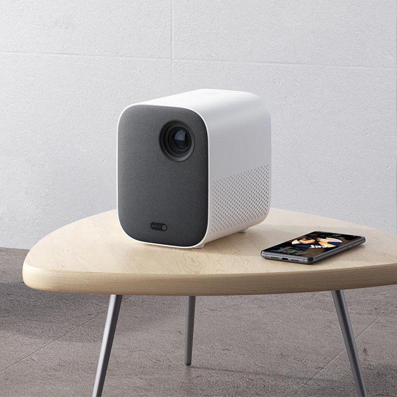Xiaomi Mijia Mini tragbare Projektor Montieren Projektion 1080 p projektor 500 ANSI lumen MIUI TV HDR10 2,4G/5G WiFi