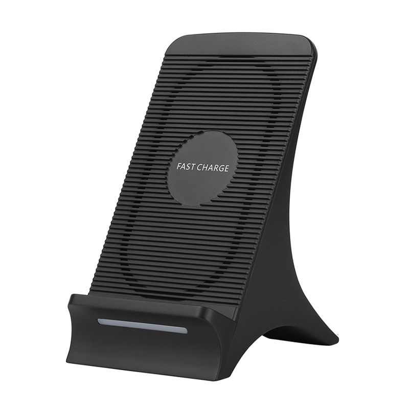 S550 Universal Wireless Fast Charger With Fan For iPhone X iPhone 8 Plus Quick Wireless Charging Stand For Samsung S7 Edge S8