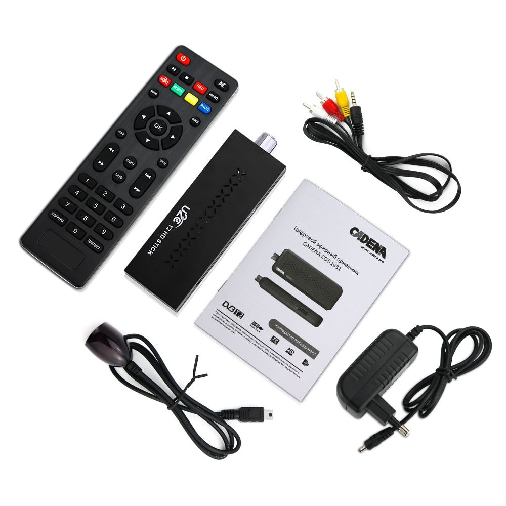 Mini DVBT2 TV Receiver DVB-T2 TV Stick Support MP3 MPEG4 Format Tv Box Digh <font><b>Definition</b></font> Digital Smart Tv Devices free for Russian