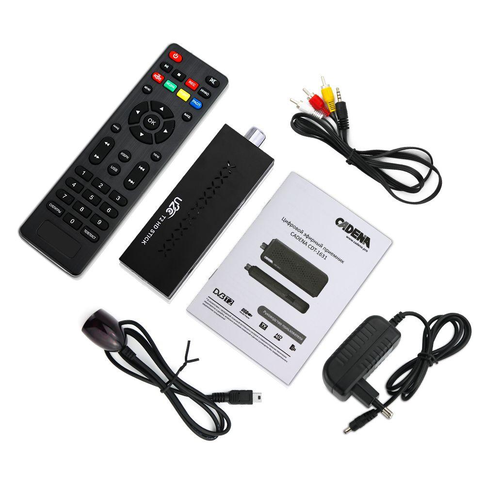 Mini DVBT2 TV récepteur DVB-T2 TV bâton Support MP3 MPEG4 Format Tv Box Digh définition numérique Smart Tv appareils gratuits pour russe