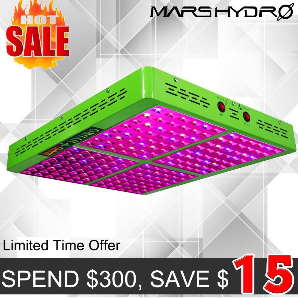 MarsHydro Reflector 960W LED Grow Light Hydroponics Lamp for Indoor Garden/Box