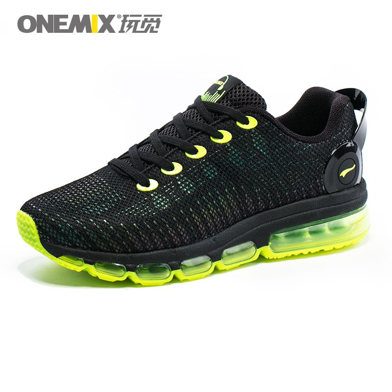 ONEMIX Men Reflective Uppers Air running Shoes For Women Lightweight Sneakers Walking Sports Outdoor Athletic Trainers
