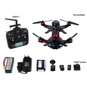 Walkera Runner 250 Advance with DEVO 7 GPS FPV RC Quadcopter RTF 2.4GHz (with 1080P Camera & OSD & Backpack & Battery &Charger)
