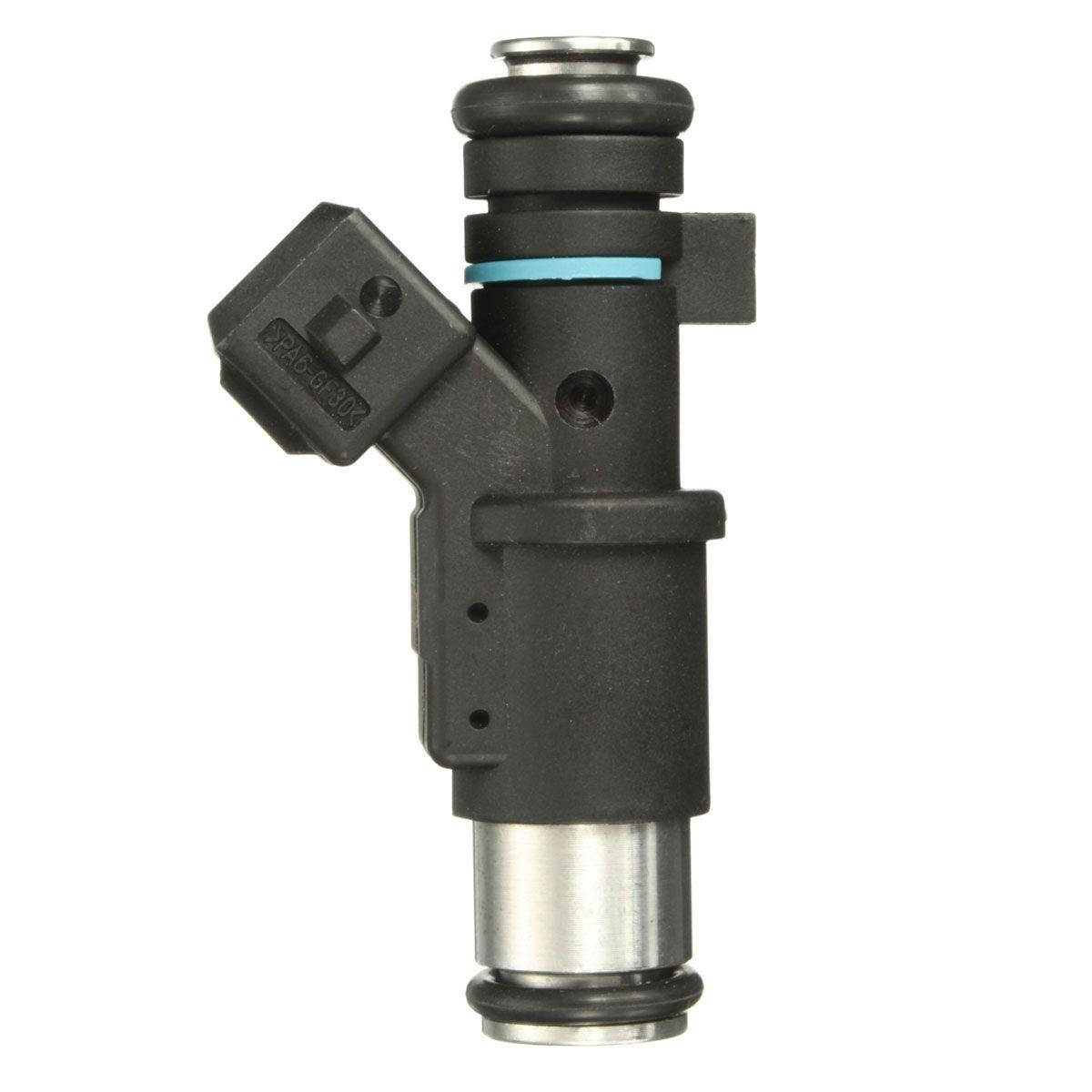 Petrol Fuel Injector For Peugeot 106 206 306 307 1007 Partner 01F002A Black For Partner for Citroen For Berlingo C2 C3