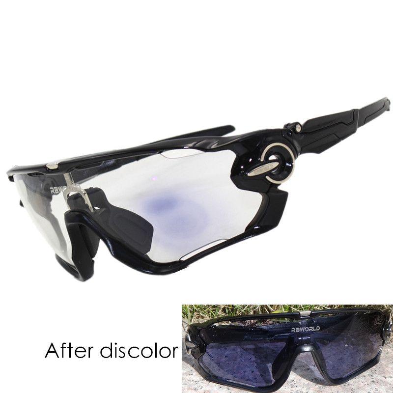 2 objektiv Photochromen Sonnenbrille Auto TR90 Sport Verfärbung Gläser JBR Radfahren Sonnenbrillen MTB Mountainbike Brille Fahrrad
