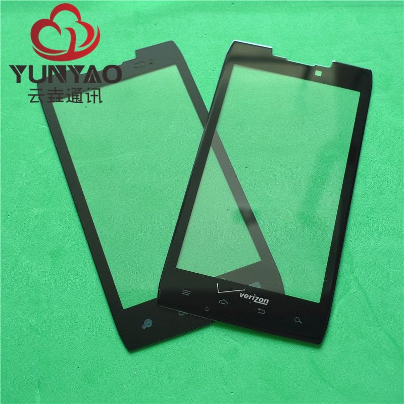 New Replacement LCD Front Touch Screen Glass Outer Lens For Motorola XT912 XT910 Touch Screen