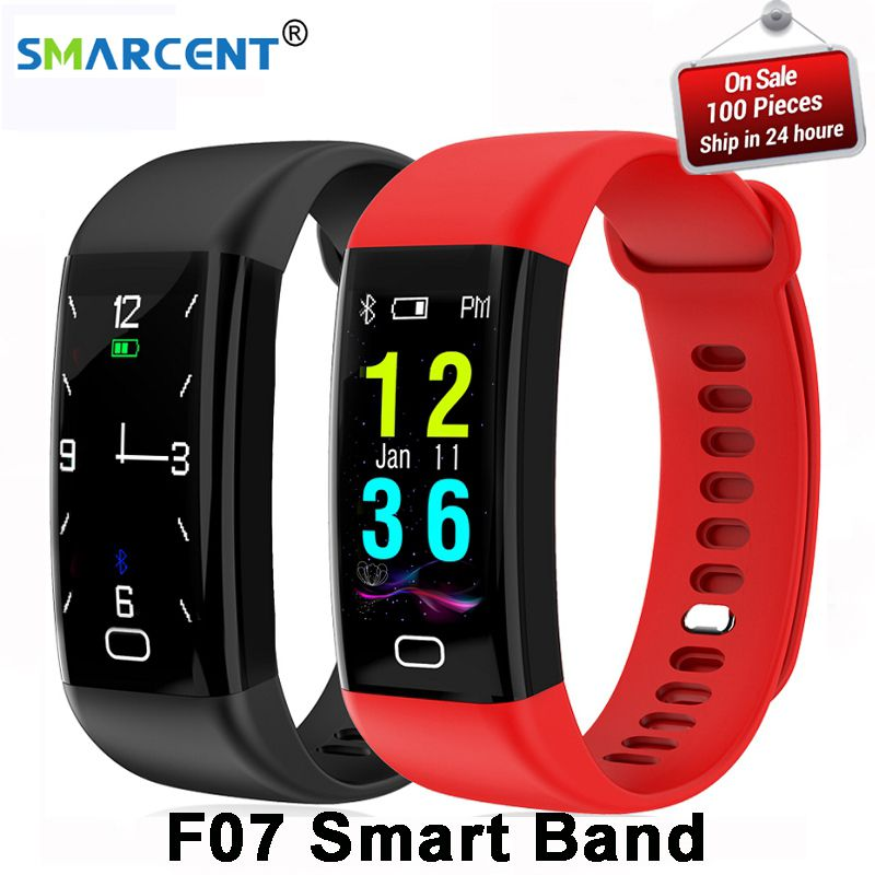 Original F07 Waterproof Smart Bracelet Heart Rate Monitor Blood Pressure Fitness Tracker Smartband Sport Watch for ios android