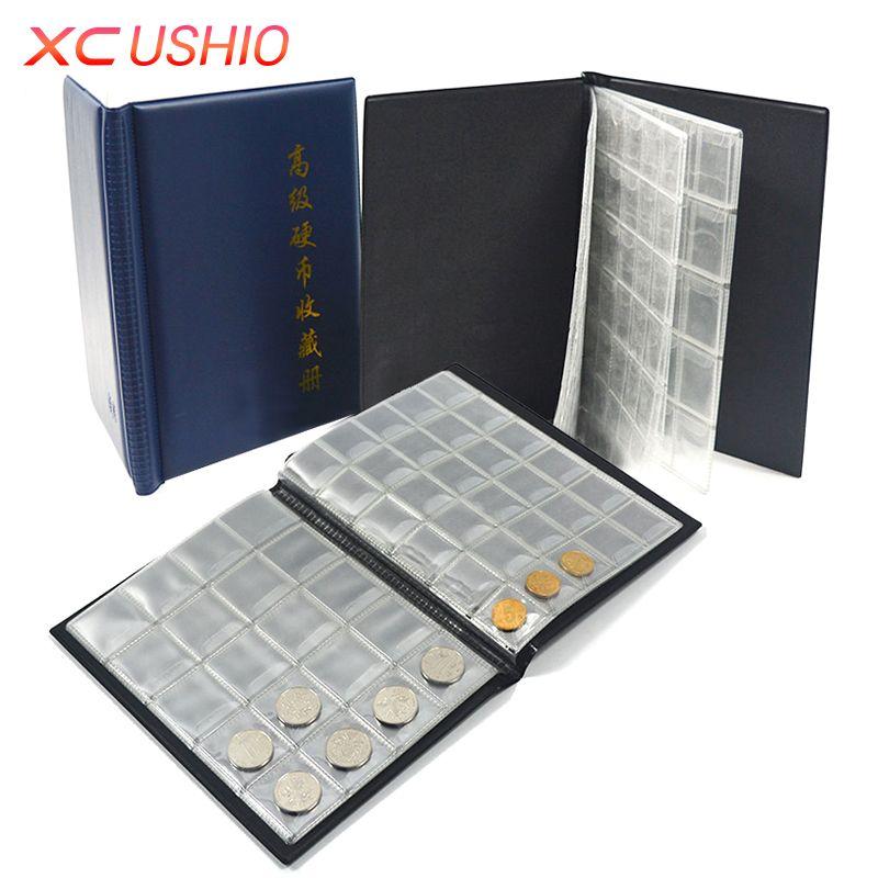 Coins Collection Book Opening Stock 250 Coin Pocket Money Penny Storage Bag Collection Album Collect Coin Album Coin Holder