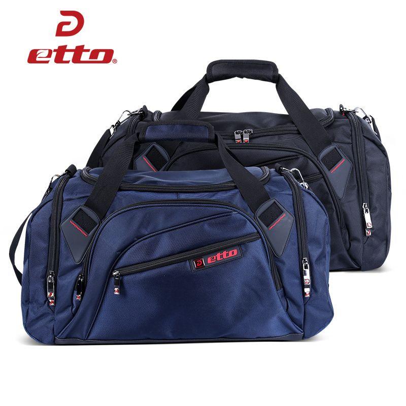Etto Professionelle Große Sporttasche Sporttasche Männer Frauen Unabhängige Schuhe Lagerung Training Bag Portable Schulter Fitness Tasche HAB002