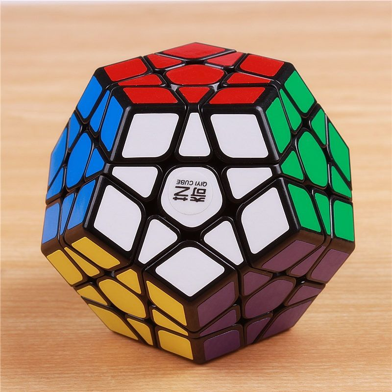 QIYI megaminxeds magic cubes stickerless speed professional 12 sides puzzle cubo magico educational toys for children