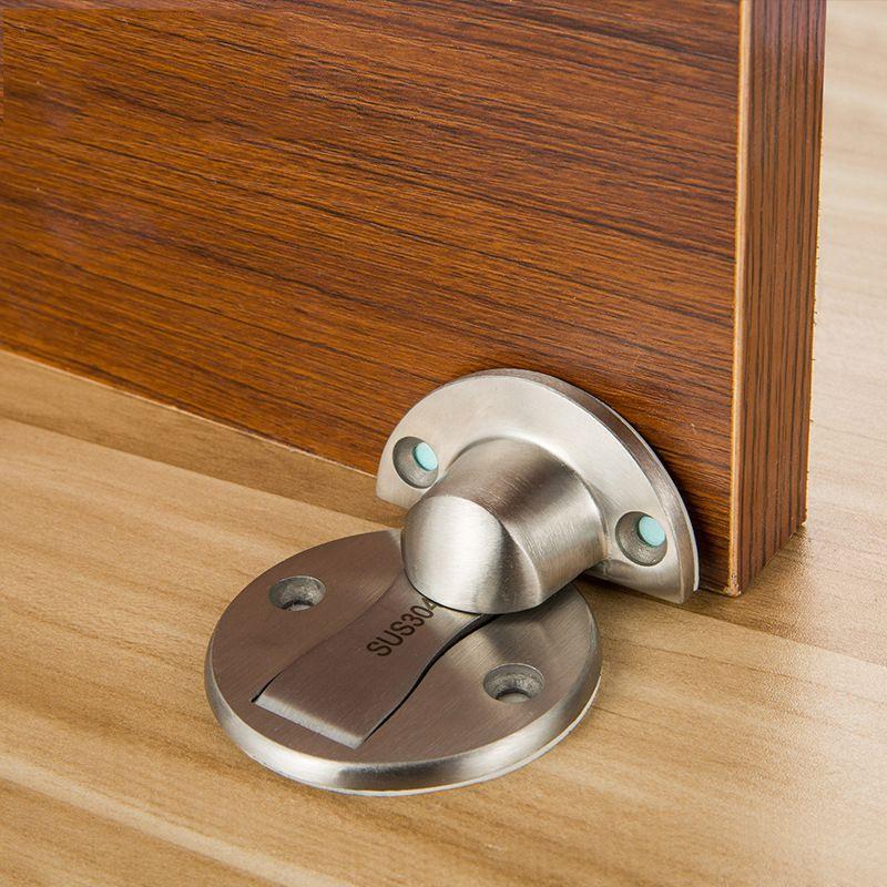Magnet <font><b>Door</b></font> Stops Stainless Steel <font><b>Door</b></font> Stopper Magnetic <font><b>Door</b></font> Holder Toilet Glass <font><b>Door</b></font> Hidden Doorstop Furniture Hardware