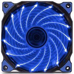 120 мм ПК компьютер 15 светодиодов 12 В Корпус Вентилятор радиатор охлаждения с антивибрационной резиной, 12 см вентилятор