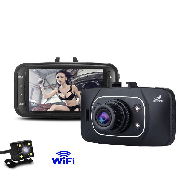 Hihippo DVRs видеорегистратор Full HD 1080 P тире Камера ночное видение cameravehicle Цифровой Автомобильный видеорегистратор 170 градусов видеокамера DVR