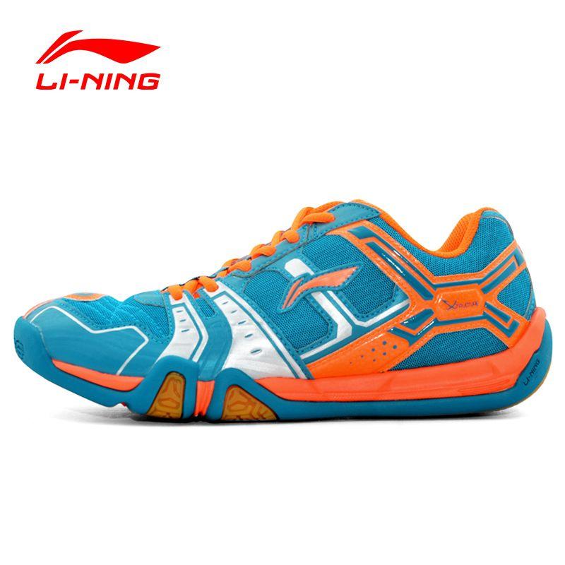 Li Ning herren Saga Licht TD Badminton Trainingsschuhe Atmungsaktiv Anti Rutschigen Licht Turnschuhe Futter Sportschuhe AYTM085 XYY061