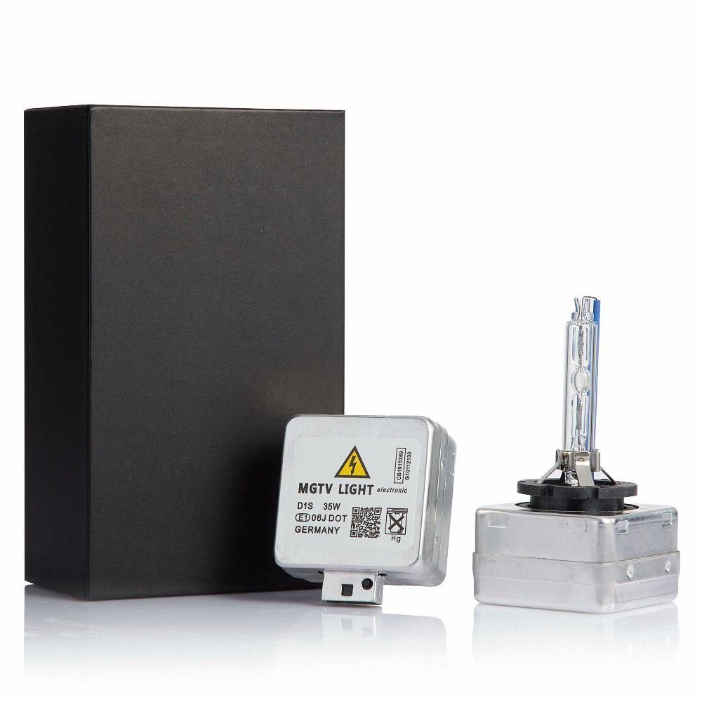 Mgtv фото реально лампы картину 12 В 35 Вт 2 шт. D1S/D1C D2S/D2C D3S /D3C D4S/D4C Замена ксеноновые лампы фар