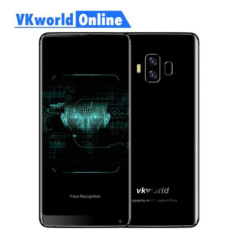 Vkworld S8 5.99 Inch FHD Mobile Phone 2160 X 1080 5500mAh <font><b>Face</b></font> ID 4GB Ram 64GB Rom MTK6750T Octa Core Dual Camera 4G Smartphone