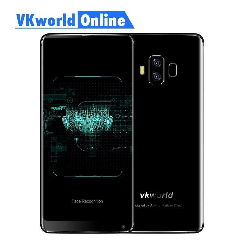Vkworld S8 5.99 Inch FHD Mobile Phone 2160 X 1080 5500mAh Face ID 4GB Ram 64GB Rom MTK6750T Octa Core Dual Camera 4G Smartphone