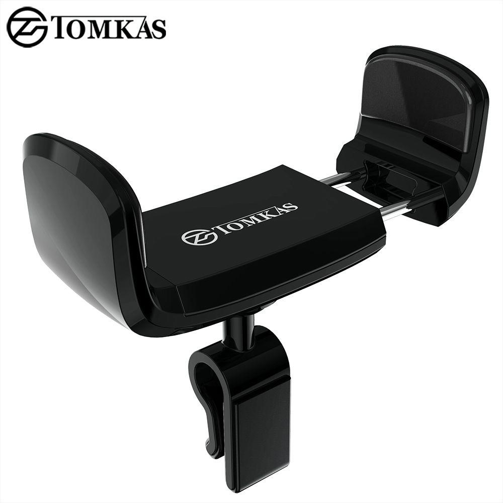 TOMKAS Auto Handyhalter für iPhone 6 Sumsung Air Vent Autohalterung 360 Grad Ratotable Universal Mobile Auto Telefon stehen
