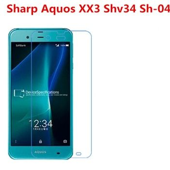 5 Pcs Ultra Thin Clear HD LCD Screen Guard Protector Film With Cleaning Cloth Film For Sharp Aquos XX3 Shv34 Sh-04.