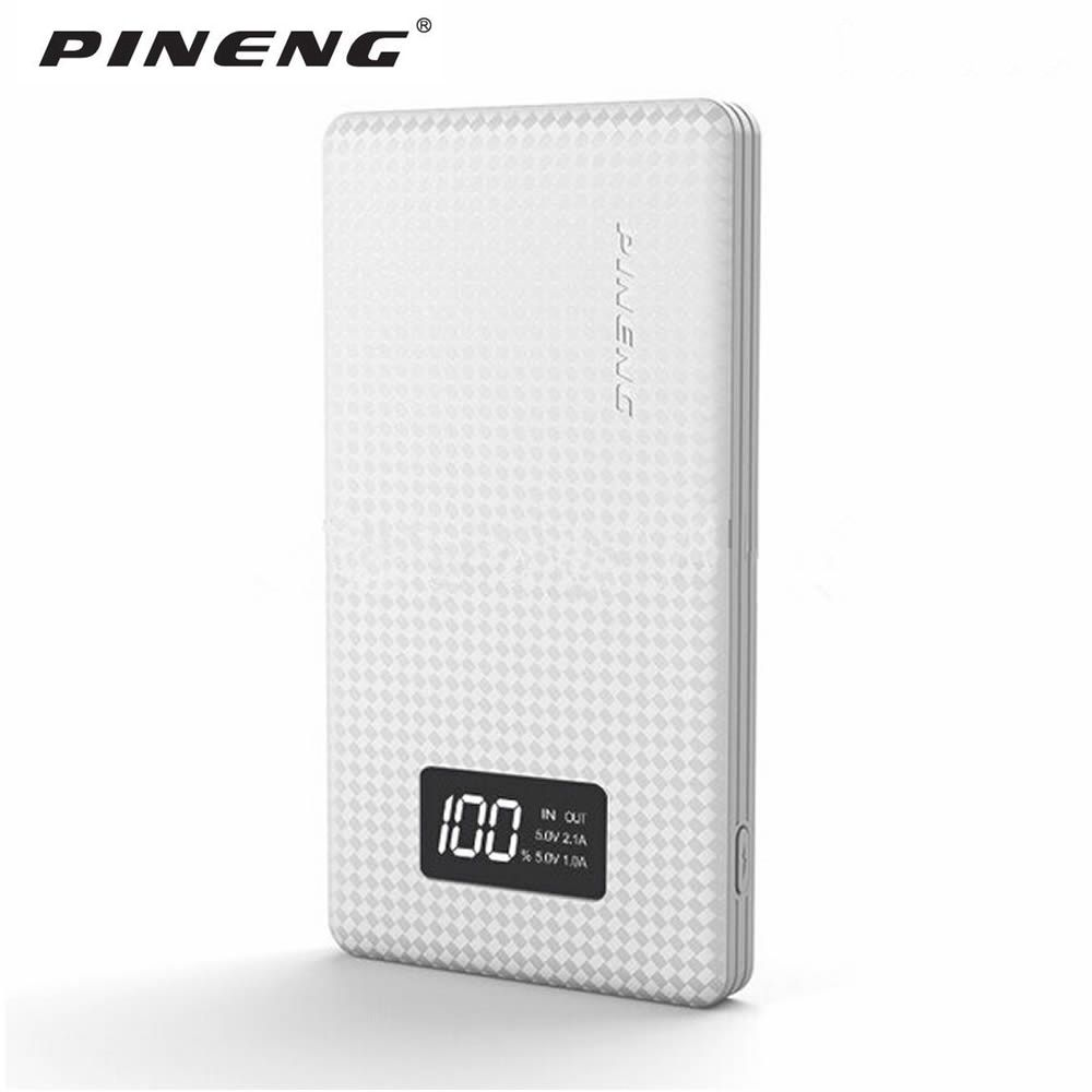 Pineng 10000mah PN963 Power Bank PN-963 power Portable Battery Mobile Li-Polymer Bank with LED Indicator For <font><b>iphone7</b></font> Samsung S7