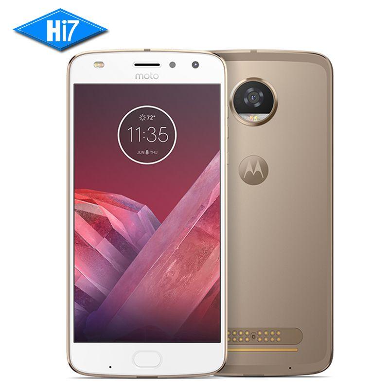 New Original Motorola MOTO Z2 PLAY 4GB RAM 64GB ROM 4G LTE 5.5 inch 12MP Octa Core Android 7.1 Dual SIM 1920x1080 Mobile Phone