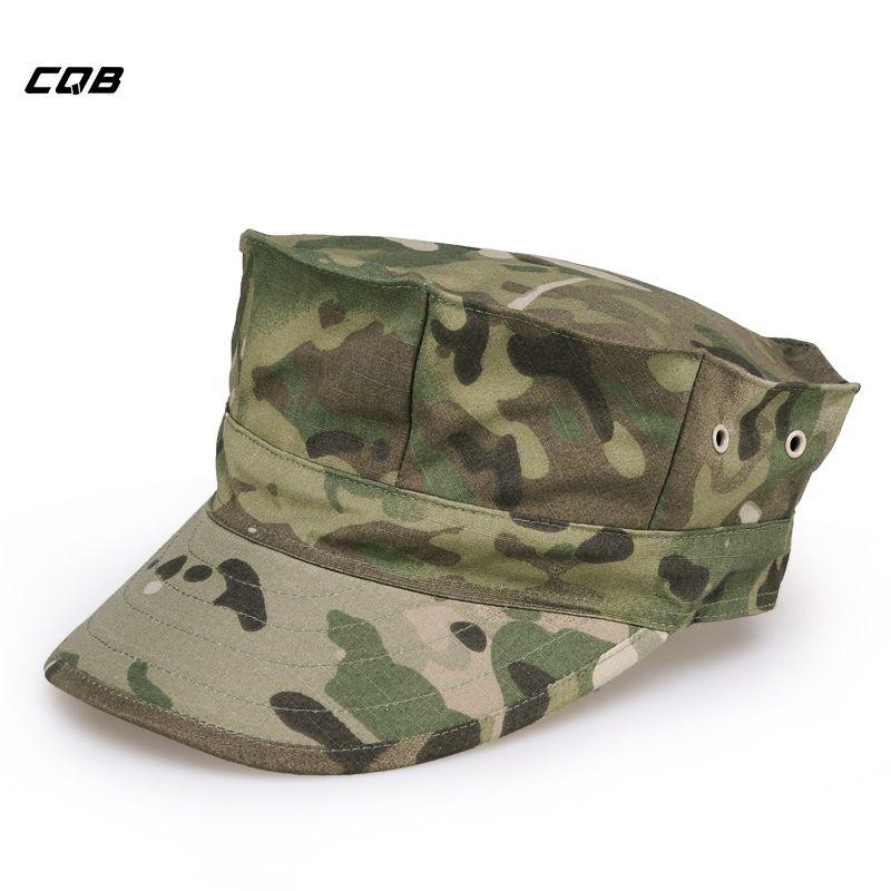 CQB Outdoor Sports Army Fans Octagonal Cap Men Military <font><b>Training</b></font> Tactical Hats for Fishing Sunshade Cycling Hat