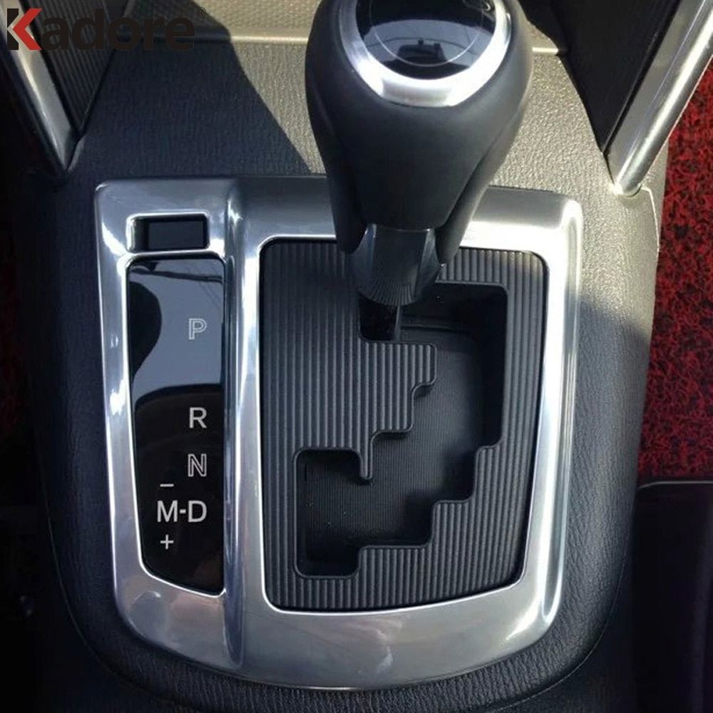 For Mazda CX-5 CX5 2012 2013 2014 2015 (only left-handed driving) AT Shift knob Panel Decoration Internal ABS Chrome Car Trim