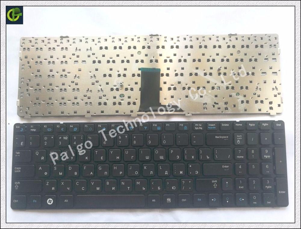 Clavier russe pour Samsung NP-R578 NP-R580 NP-R590 NP-E852 NP R578 R580 R590 E852 NPR578 NPR580 NPR590 NPE852 RU noir