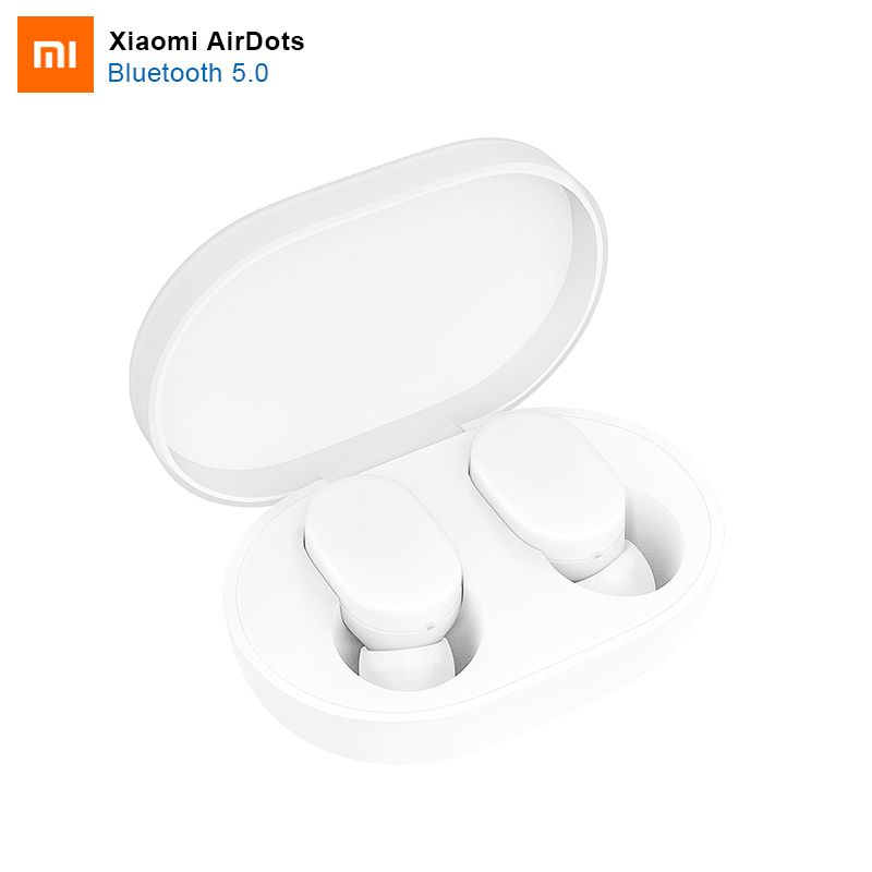 100% Original Xiaomi AirDots Bluetooth Earphone Youth Version Stereo MI Mini Wireless Bluetooth 5.0 Headset With Mic Earbuds