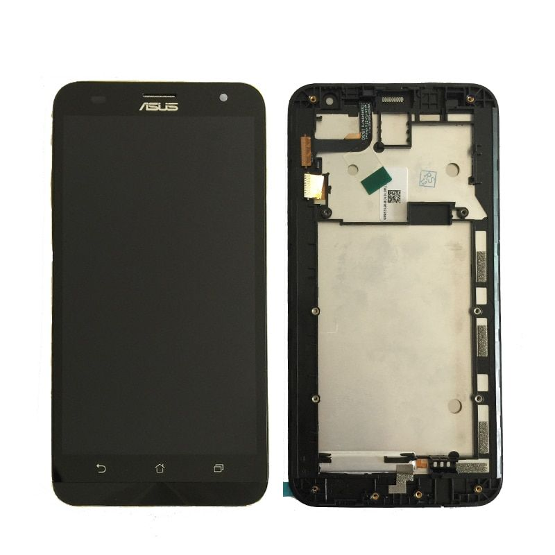 100% Test Original For ASUS Zenfone 2 Laser ZE551ML ZE550KL ZE500KL Z00LD Lcd Display with Touch Digitizer Assembly With frame