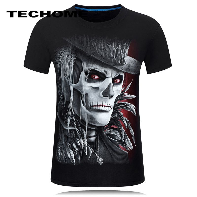 2017 Summer Men's Brand Clothing O-Neck Short Sleeve Animal Orangutan T-shirt 3D Digital Printed T shirt Homme Plus Size 6XL