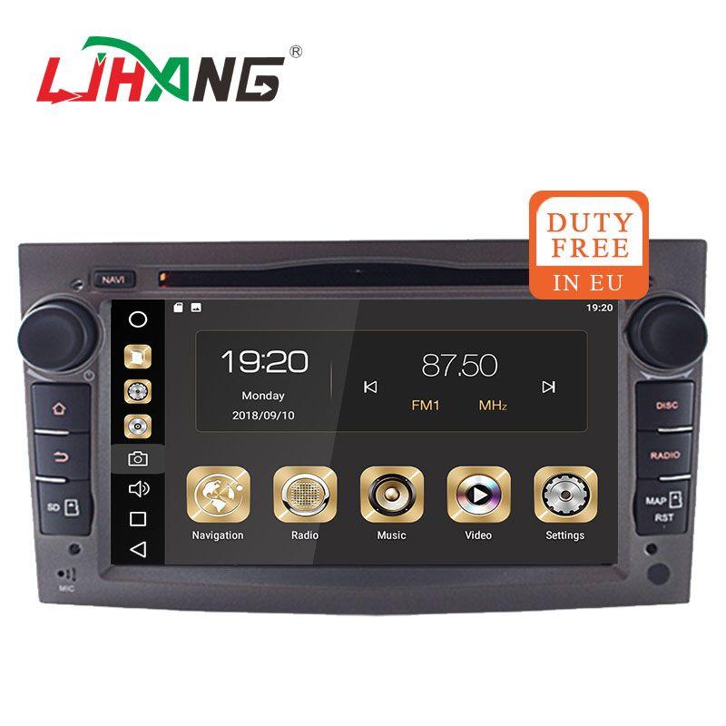 LJHANG 2 din Android 8.1 Car multimedia Player Auto GPS For OPEL/ASTRA/Zafira/Combo/Corsa/Antara/Vivaro Bluetooth USB Navi WIFI