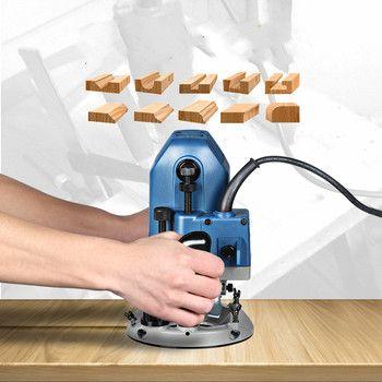 Bois Gravure Slotting Trimmer Machine Machine À Sous Puissance Tondeuse Bricolage Outils Électriques 1600 W
