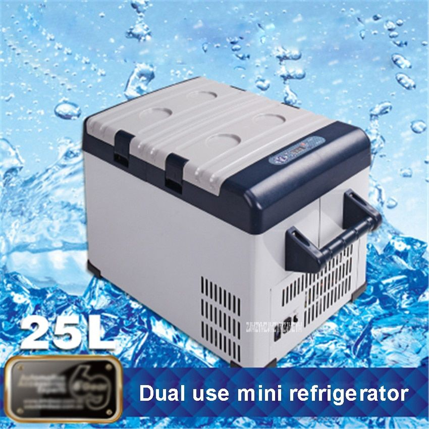 42L Tragbare Gefrierfach Mini Kühlschrank Kompressor Box Kühlschrank Insulin Eis Kammer 12/24 v Auto Dual-use-Mini kühlschrank 110-220 v