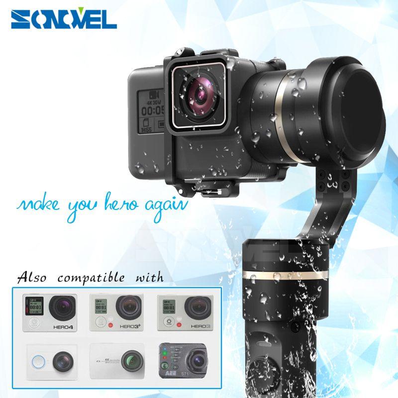 FeiyuTech G5 3 AXIS Handheld Gimbal Splashproof Humanized designed selfie frame for GoPro HERO5 HERO 5/4/3+/3/AEE action camera