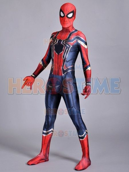 Fer Homecoming Spiderman Costume Cosplay 3D Imprimer Zentai Fer Spider-man Films Costumes Spidey Fer Costume livraison gratuite