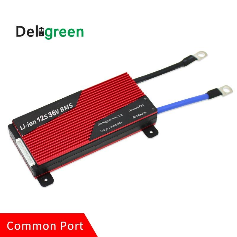 12S 120A 150A 200A 36V PCM/PCB/BMS for LiNCM battery pack 18650 Lithion Ion Battery Pack protection board Deligreen Li-ion