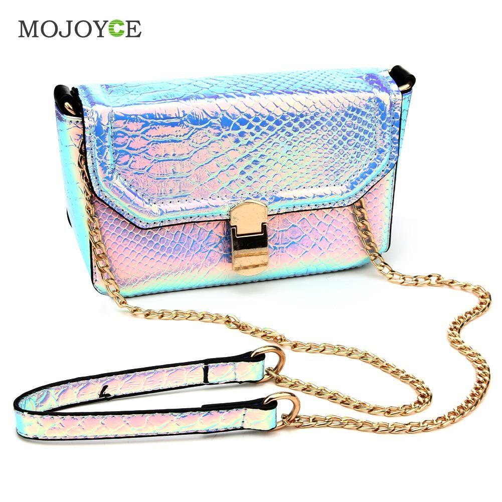Vintage Long Chain Women Bag PU Leather Handbags Crossbody Messenger Bags for Women Famous Designer Shoulder Bags Bolsa Feminina