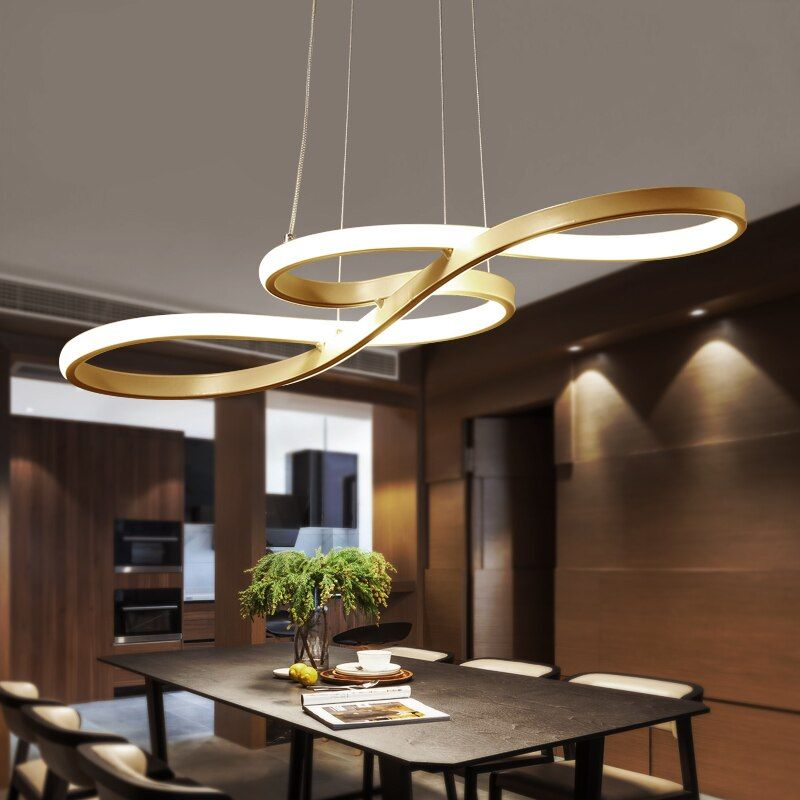 led chandelier modern minimalist living room romantic bedroom dining room lights lamparas de techo colgante moderna abaju