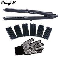 4 в 1 щипцы для завивки волос + термостойкие перчатки керамические щипцы для завивки волос ролик электрический выпрямитель для волос щипцы г...