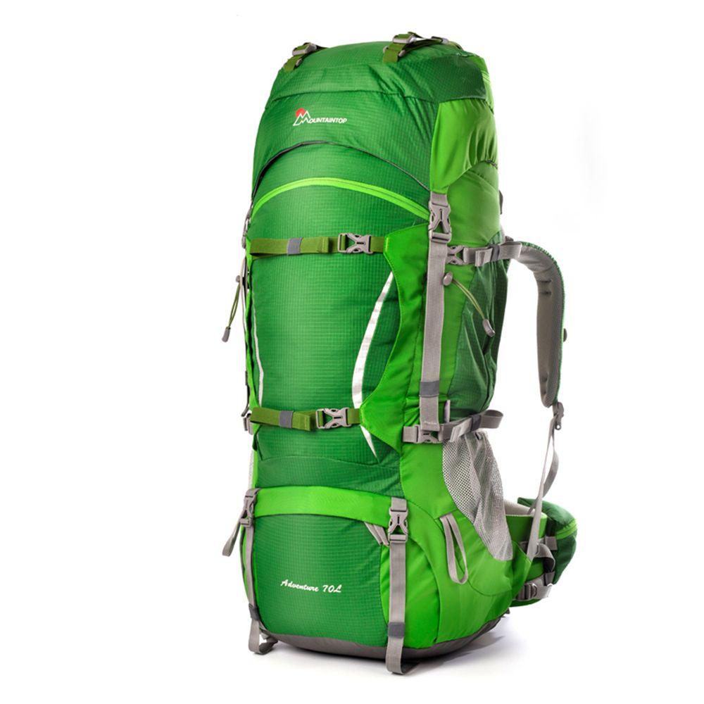 70l Professionelle Klettern Tasche Köln Material Interne Rahmen Unisex Travel Wandern Outdoor Fern Camping Rucksack
