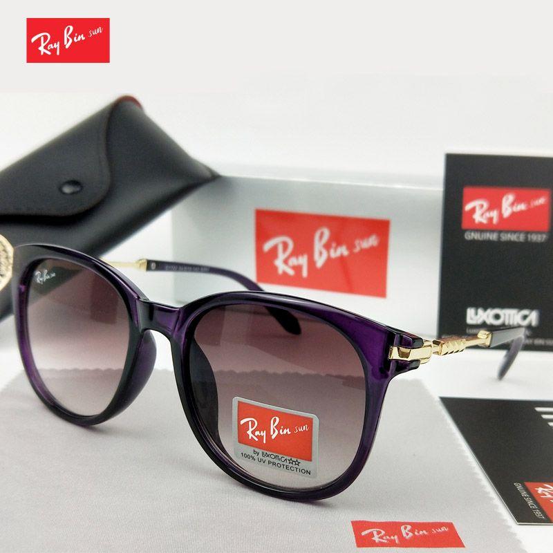 Ray Bin Soleil 2018 Nouveau Classique Mode Femmes Dames Soleil Lunettes Femme Lunettes D'été lunettes De soleil De Marque Oculos De Sol Shades
