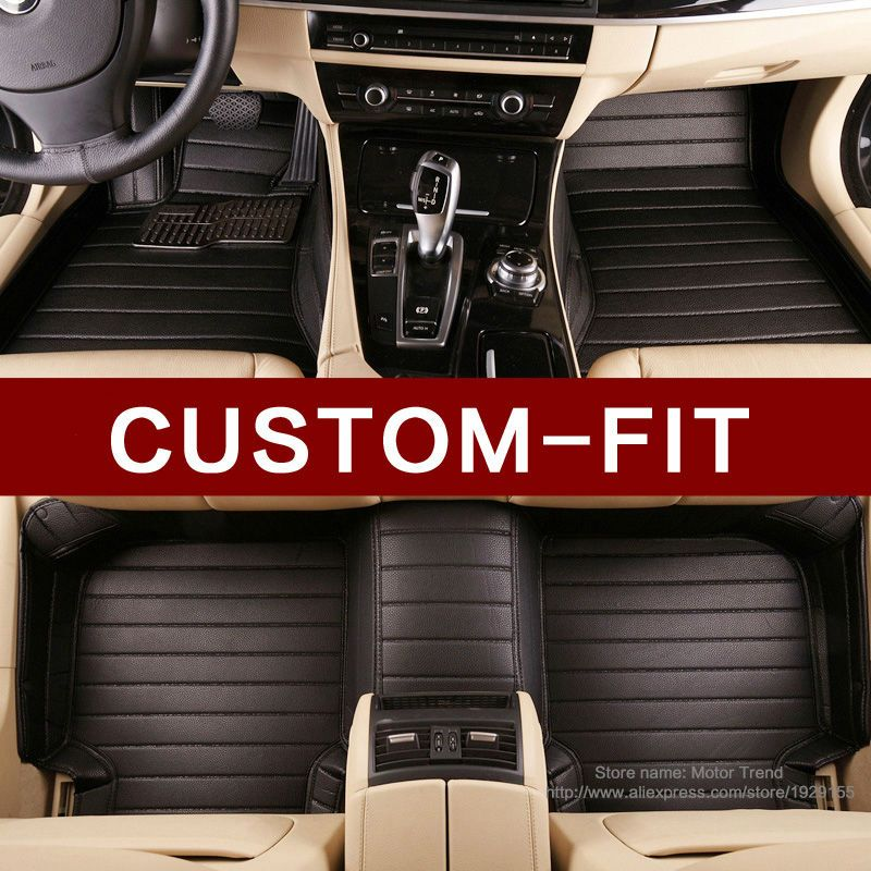 Special Custom fit car floor mats for Mitsubishi Lancer ASX Pajero sport V73 V93 3D car styling all weather carpet floor liner