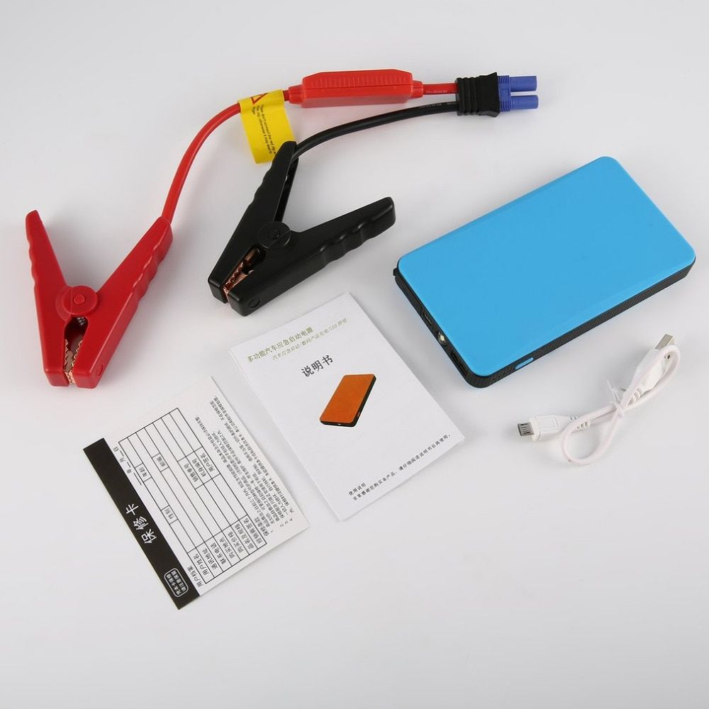 4 Color jump starter 12V 30000mAh Multi-Function Car Jump Starter Emergency Power Bank LED Lighting For Digital Devices Charging